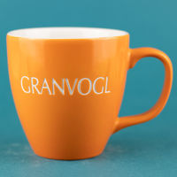 GR36 Tasse Orange Gravur