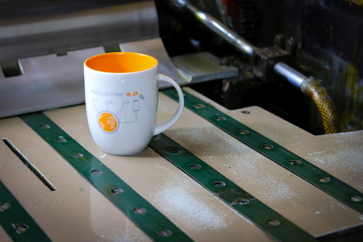 Kaffeetasse innen Orange Referenz 5